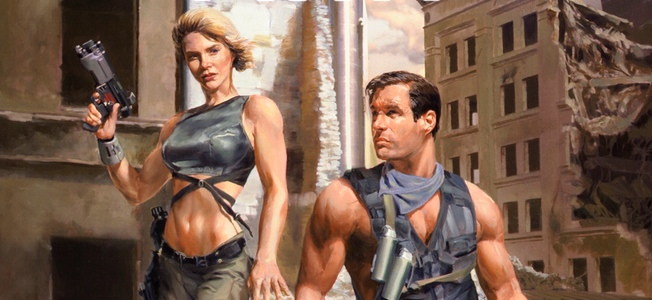 """""""[the ending] knocked my socks off, left my jaw gaping…""""  Norman Spinrad, Asimov's  US cover for The Affinity Trap. Artwork by Dave Seeley"""