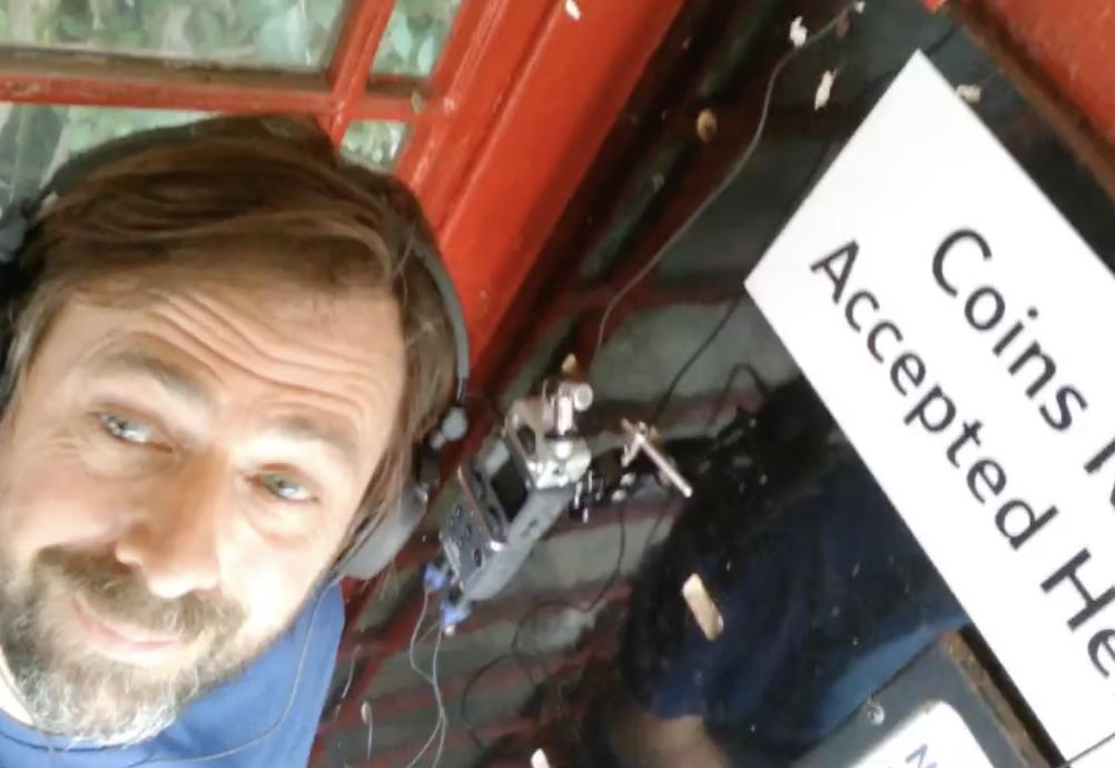 Ian Pringle recording ModRocker